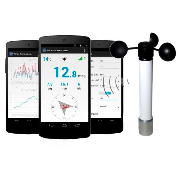 Smartphone Bluetooth Anemometer